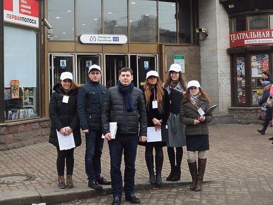 Молодогвардейцы изучают проблемы округов новой схемы нарезки Петербурга