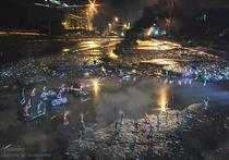 А в Ульяновске шумно отметили день рождения лужи