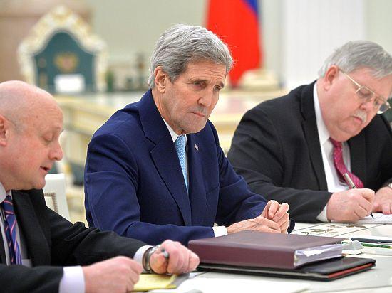 Не связано с Сирией: Госдеп объяснил визит Керри в Москву