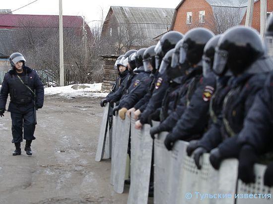 Тульские власти не допустят повторного восстания