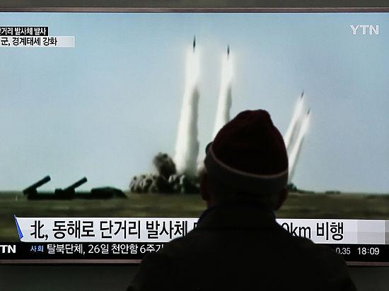 Сеул и Вашингтон готовят санкции против КНДР, вновь запустившей ракеты