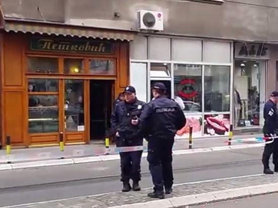 Смертник взорвался в Белграде, в кондитерской экс-министра культуры Сербии