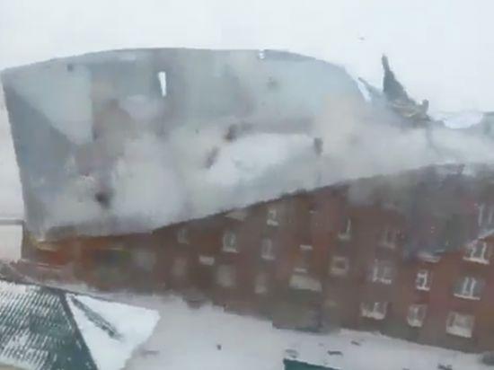 Шквальный ветер погубил человека и нанёс ущерб на сотню миллионов рублей