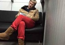Песков рассказал, как попал ночью на мойку в красных трениках