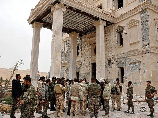 Сирийская армия взяла Пальмиру