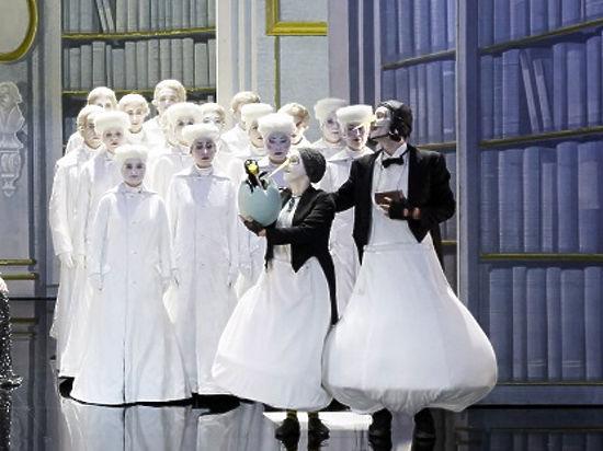 «Волшебная флейта» впервые на сцене Михайловского театра