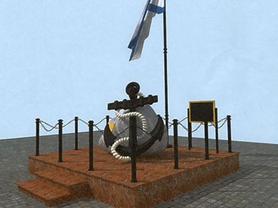 На подмосковном пляже установят памятник морякам