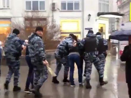 Инцидент произошел в четверг в центре Москвы