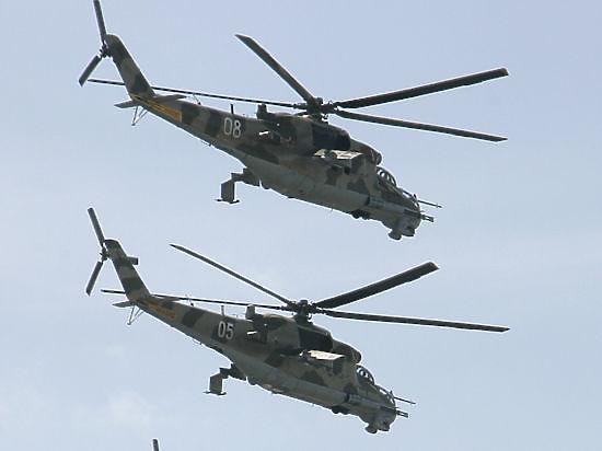 Армянские военные сообщили о сбитом вертолете ВВС Азербайджана