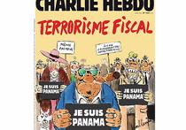 Charlie Hebdo опубликовал карикатуру на офшорный скандал, посмеявшись над собой