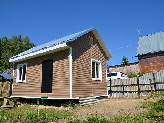 Корреспондент «МК» поделился опытом возведения небольшого загородного домика