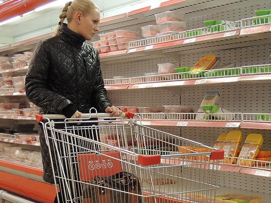 Еда съедает бюджет россиян