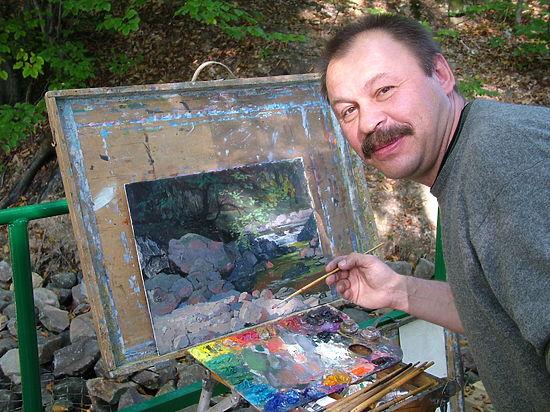Интервью с владимирским живописцем