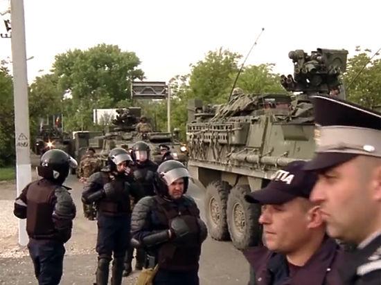 Молдавские военные разместят технику НАТО в Кишиневе вопреки воле президента