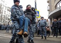 В пятницу на Болотной площади прошла акция в память о событиях 6 мая 2012 года