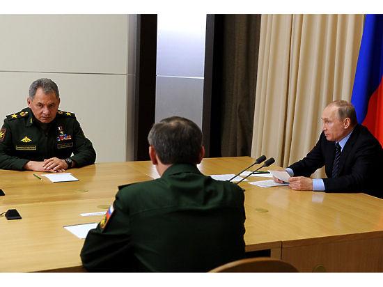 Но в целом президент очень высоко оценил  качество современных российских вооружений