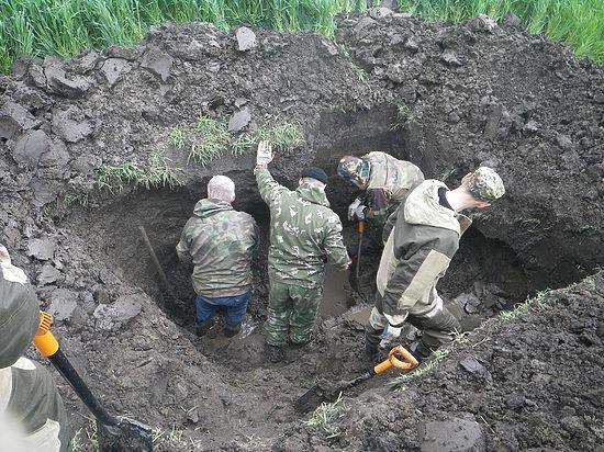 Кубанские поисковики  возвращают  советских солдат из последнего боя