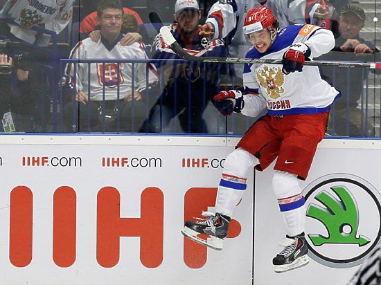 Россия без Мозякина победила Норвегию на ЧМ-2016 по хоккею