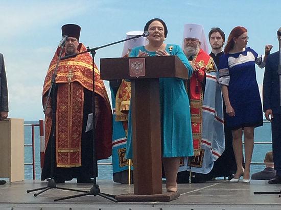 Великая княгиня Романова прошла в Крыму маршрутом Николая II