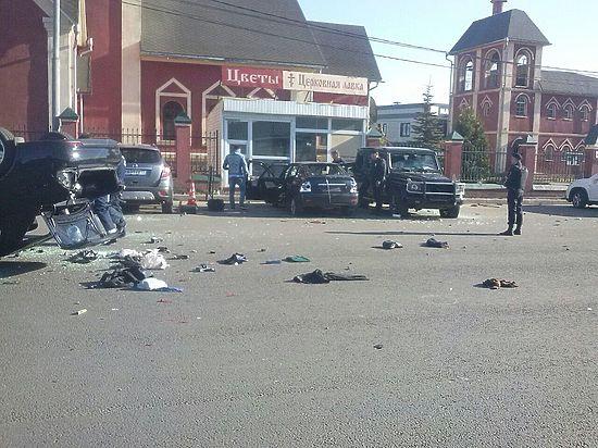 Всего арестованы 14 человек, большинство из них обвиняются в хулиганстве