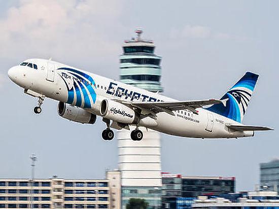 NYT: на корпусе рухнувшего лайнера EgyptAir была угрожающая надпись