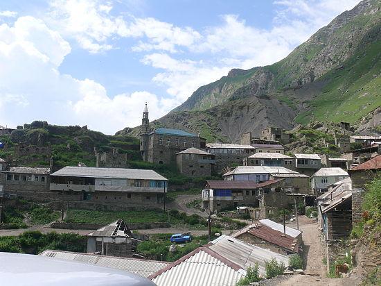 Селение Кванхи (Кенхи) и Шаройский район