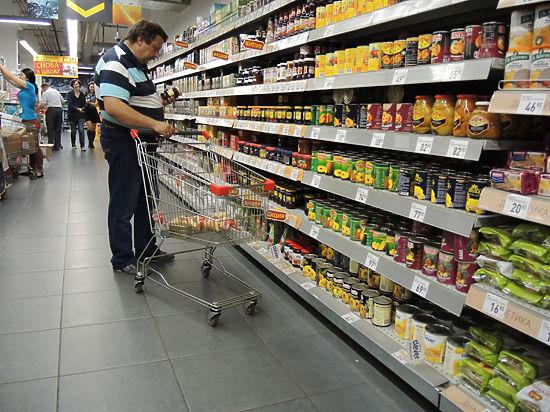 Средняя продуктовая корзина потянула на 30 тыс. рублей