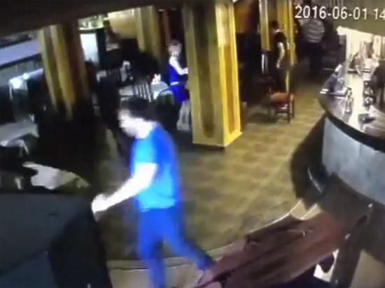 Появилось видео расстрела чемпиона по тайскому боксу Шамхалаева