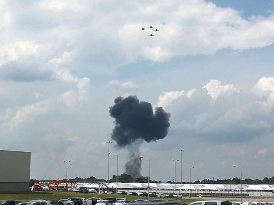 ЧП произошло во время тренировочного полета
