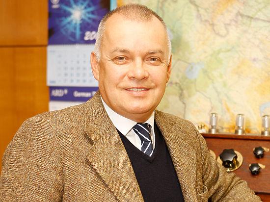 Дмитрий Киселев вернулся из Крыма в Россию