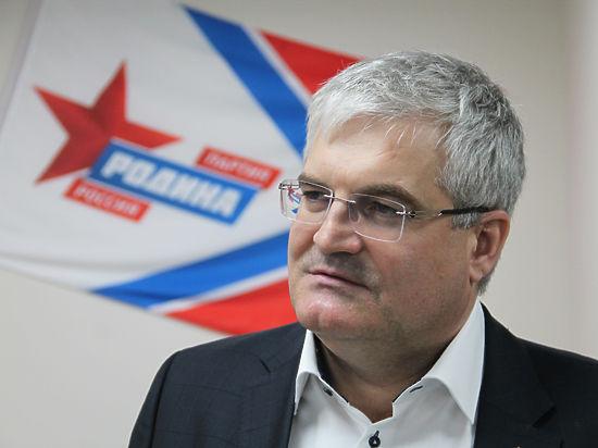 Вячеслав Илюхин возглавил новосибирское отделение «Родины»
