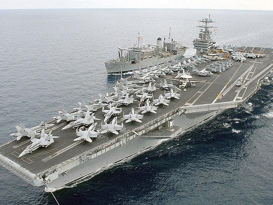 Harry Truman покажет Кремлю возможности американского флота
