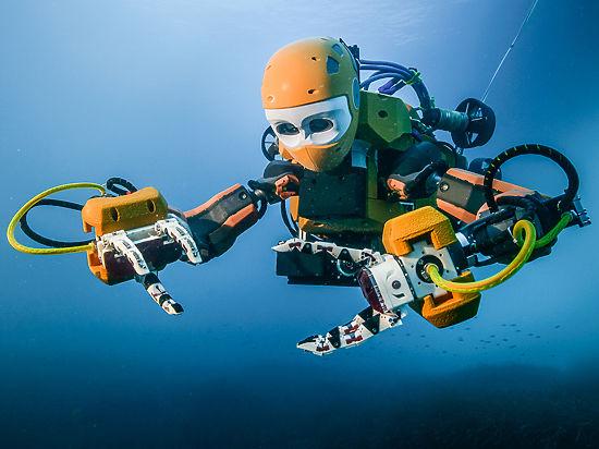 Водолазов заменит робот-ныряльщик