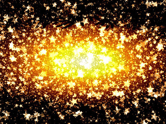 Астрофизики увидели, как черная дыра лепит звезды из облаков