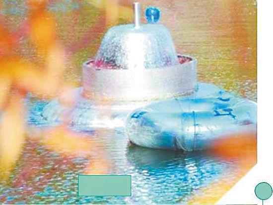 Экологи тестируют летающие тарелки для очистки заросших прудов