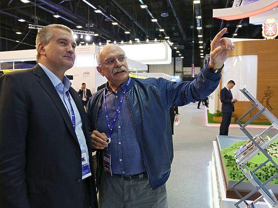 Глава Крыма нашел новых партнеров на международном экономическом форуме в Питере