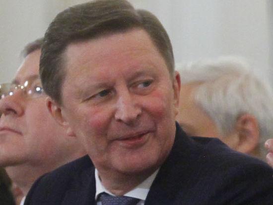 Сергей Иванов считает, что сейчас санкции идут стране только на пользу