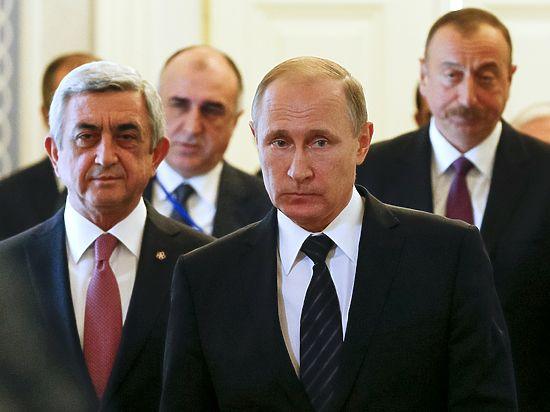 Путин, Алиев и Саргсян согласовали заявления по Карабаху без сенсаций
