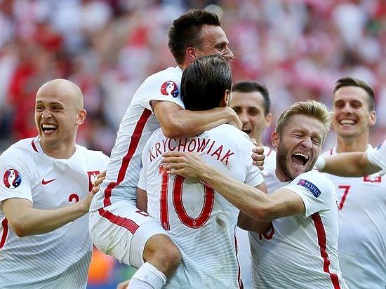 Евро-2016: Польша первой выходит в четвертьфинал