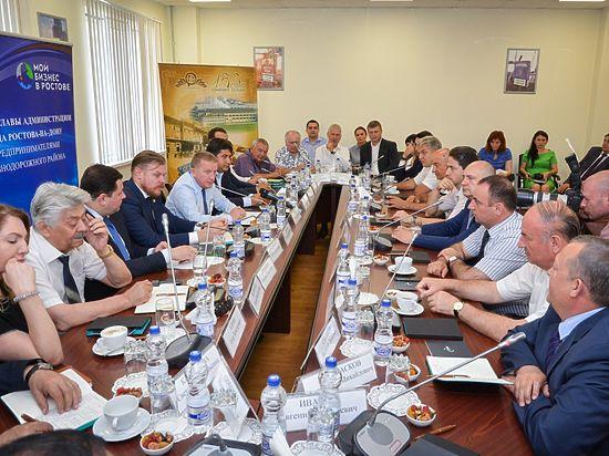 Градоначальник Ростова-на-Дону встретился с предпринимателями Железнодорожного района города