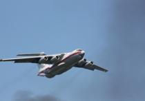 Самолет МЧС России Ил-76, пропавший сегодня в Иркутской области, занимался ликвидацией лесных пожаров