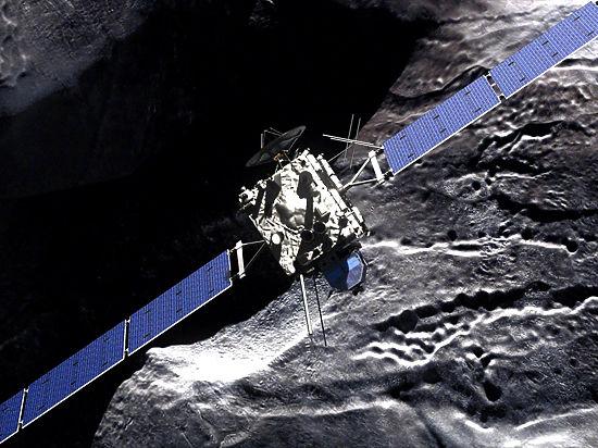Астрофизики рассказали о печальной участи зонда «Розетта»