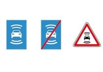Вместе с беспилотными машинами на российских улицах скоро появятся и «беспилотные» дорожные знаки