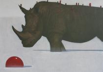 Галерея «Файн Арт» собрала руки, носорогов и эротику