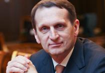 Сергей Нарышкин согласился стать крестным отцом