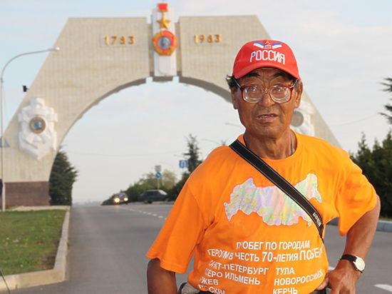 Слабовидящий 68-летний якутянин намерен пробежать пять тысяч километров за полгода