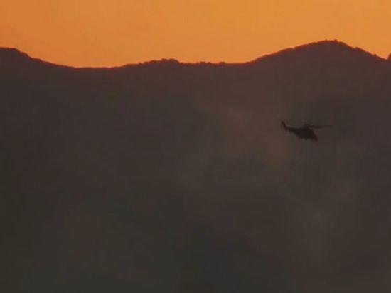 Появилась видеозапись гибели российского Ми-25 в Сирии