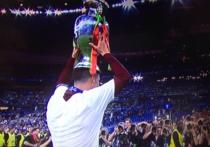 Несмотря на травму Роналду, Франция была побеждена в дополнительное время благодаря голу Эдера
