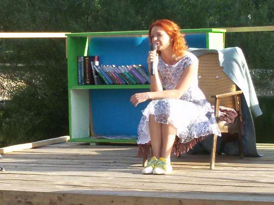 Обед с Алисой Гребенщиковой в яблоневом саду