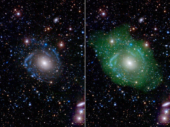 Астрономов озадачила галактика-«франкенштейн»